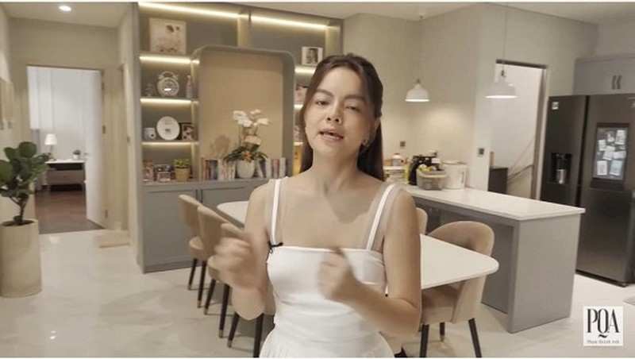 Khong gian ben trong can ho moi tau cua ca si Pham Quynh Anh-Hinh-2