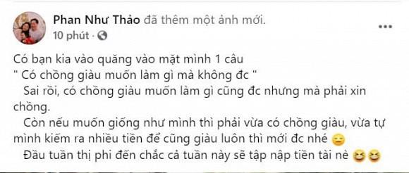 Phan Nhu Thao dap tra anti fan theo 'phien ban danh da'