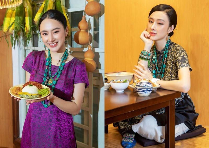 Angela Phuong Trinh chia se che do an du chat khi an chay