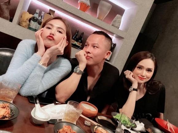 Huong Giang lan dau tu hop voi Ngoc Trinh sau scandal-Hinh-2