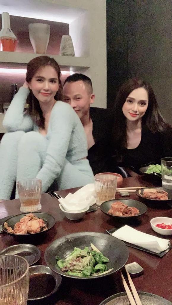 Huong Giang lan dau tu hop voi Ngoc Trinh sau scandal-Hinh-3