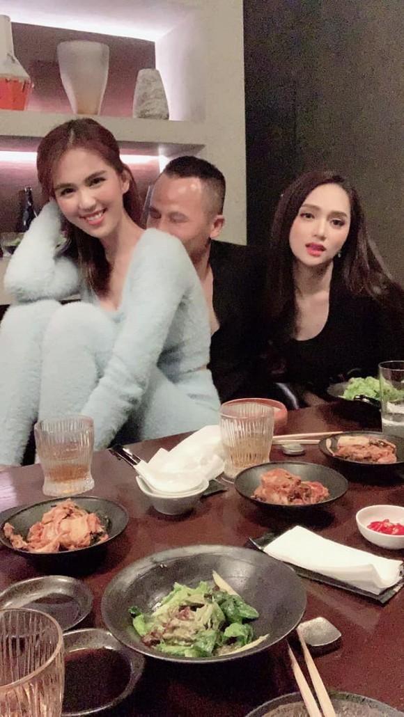 Huong Giang lan dau tu hop voi Ngoc Trinh sau scandal-Hinh-4