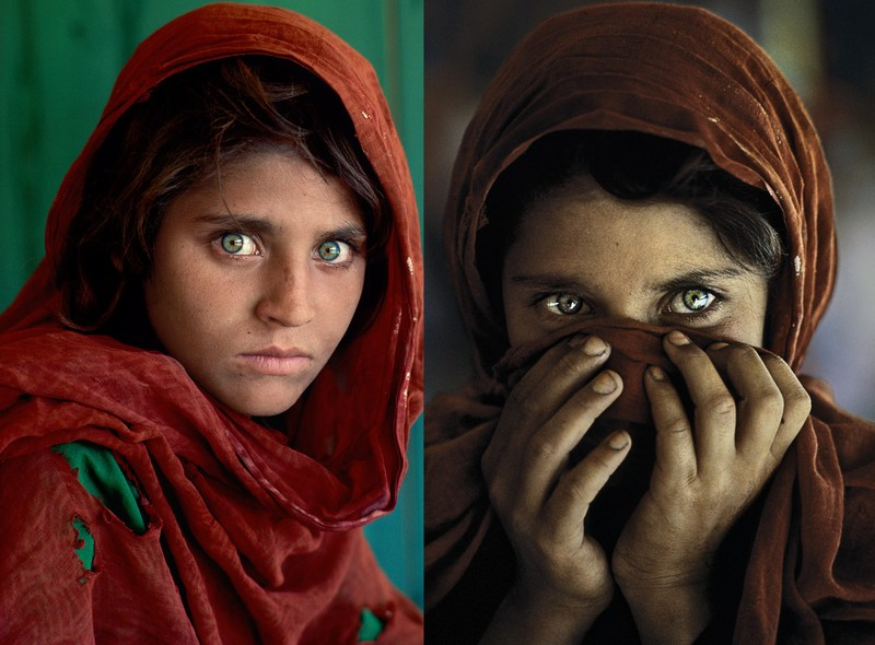 Co gai Afghanistan noi tieng voi anh mat hut hon