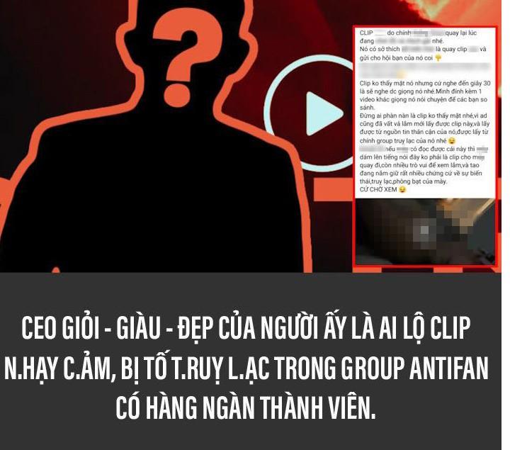 Xon xao thong tin CEO Tong Dong Khue bi lo clip 18+