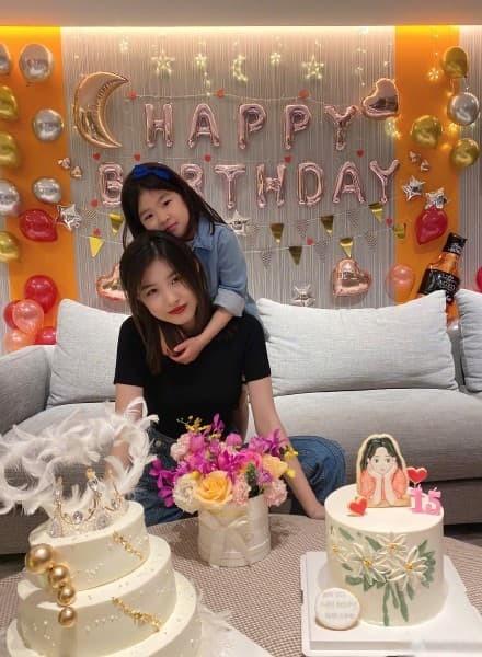 Chuong Tu Di to chuc sinh nhat cho con gai rieng cua chong-Hinh-2