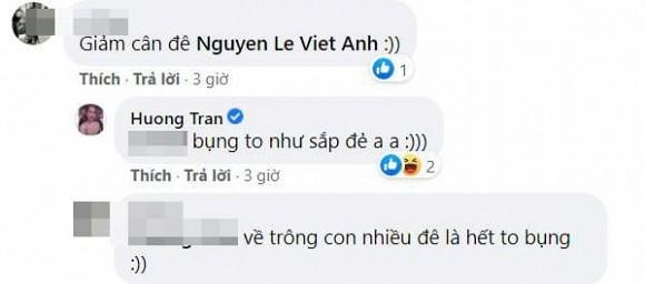 Huong Tran dang anh chong cu Viet Anh cham con-Hinh-2