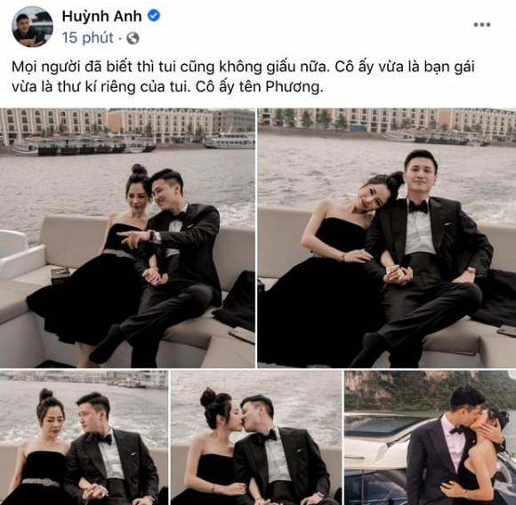 Huynh Anh bi khui chuyen tung tha thinh Tien Nguyen
