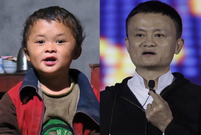 Cau be co khuon mat giong Jack Ma gio ra sao?