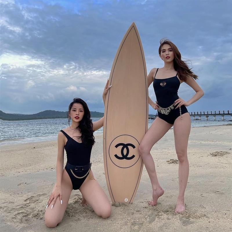Ngoc Trinh - Chi Pu vuong loat thi phi ke tu khi than qua than-Hinh-3