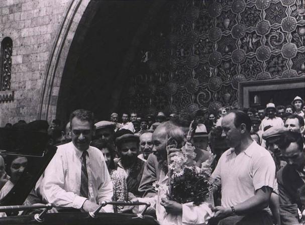 Nhung buc anh khi Chu tich Ho Chi Minh tham Armenia-Hinh-5