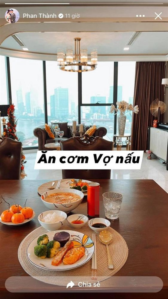 Phan Thanh de lo nha rieng cuc xin so sau ket hon