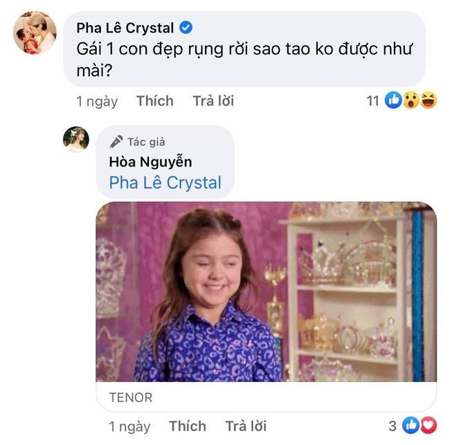 Pha Le vo tinh lam lo chuyen Hoa Minzy sinh con?