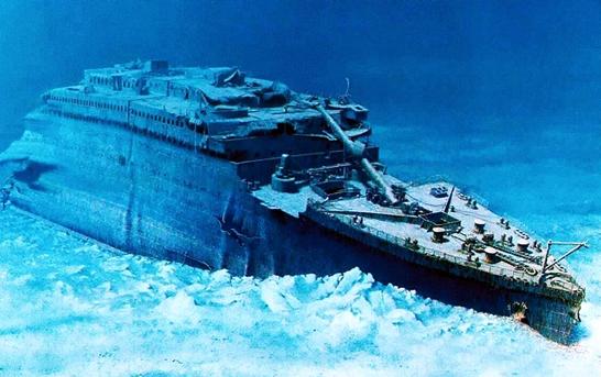 Xac tau Titanic duoi day bien co the bi bien mat