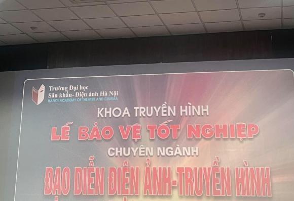 Dien vien Viet Anh van lo mo den sach de bao ve tot nghiep Dai hoc-Hinh-2