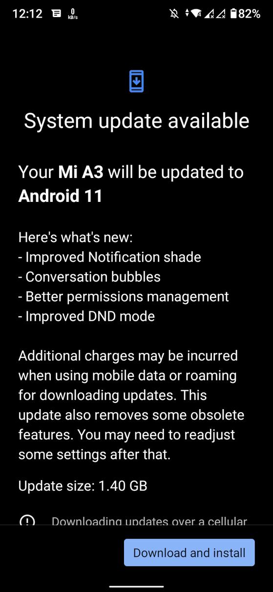 Dien thoai Xiaomi Mi A3 bi treo logo sau khi cap nhat len Android 11-Hinh-2