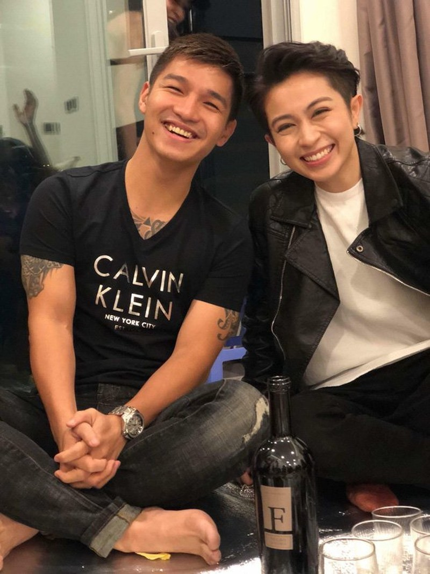 Gil Le va Cuong Seven cong khai goi nhau la nguoi yeu-Hinh-2