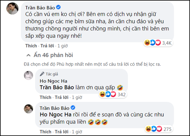 BB Tran ngo loi xin duoc cham ho chong cua Ha Ho
