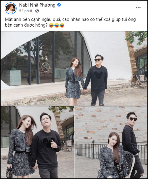 Nha Phuong nho dan mang cho Truong Giang bay mau va cai ket
