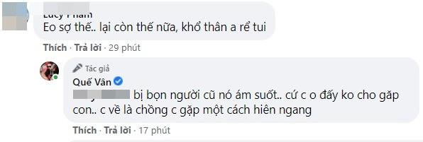Que Van kho chiu khi ban trai bi nguoi cu deo bam-Hinh-4