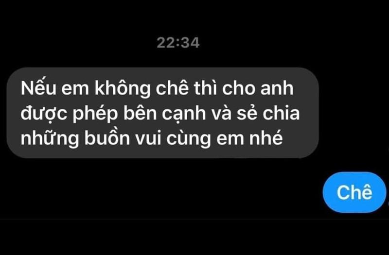 Bi nhan tin cua cam, Trang Tran phan hoi vua nhanh vua chat