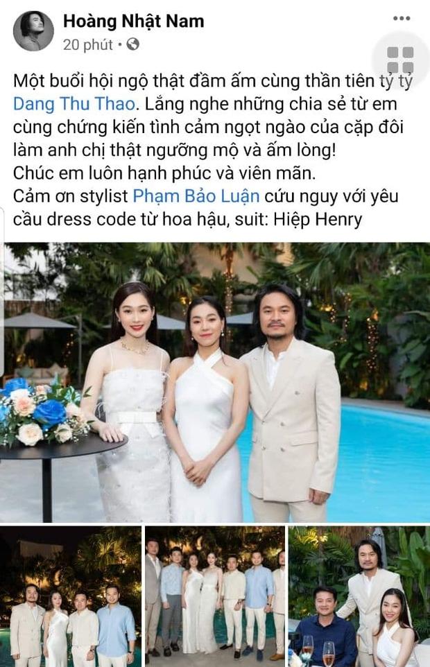 Dao dien HHVN he lo cuoc song hon nhan cua Dang Thu Thao