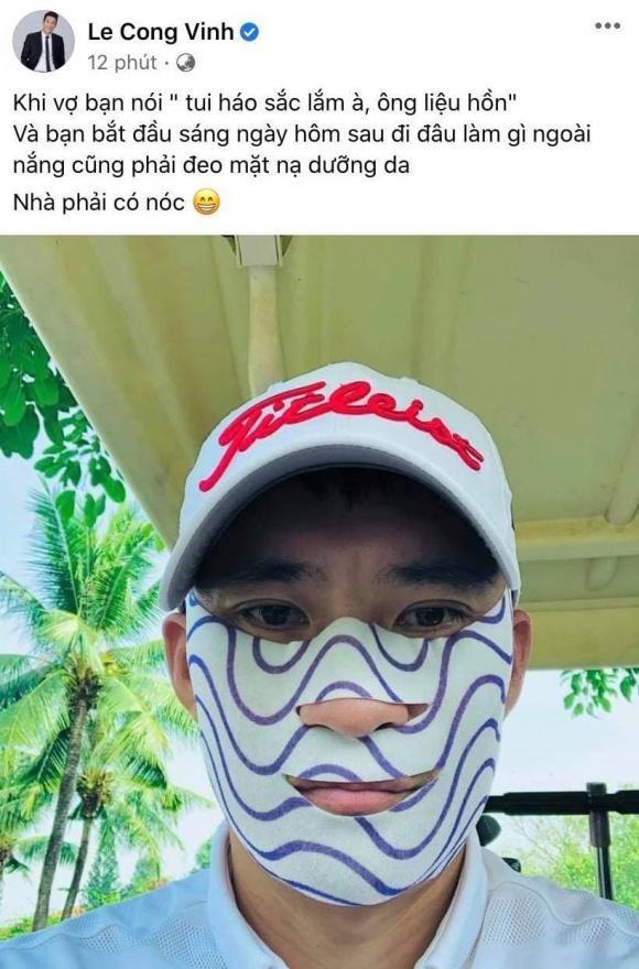 Vua bi ba xa Thuy Tien doa, Cong Vinh lien dap cuc ngau-Hinh-2