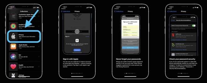 Meo bao mat an toan tuyet doi duoc Apple chia se tren iPhone