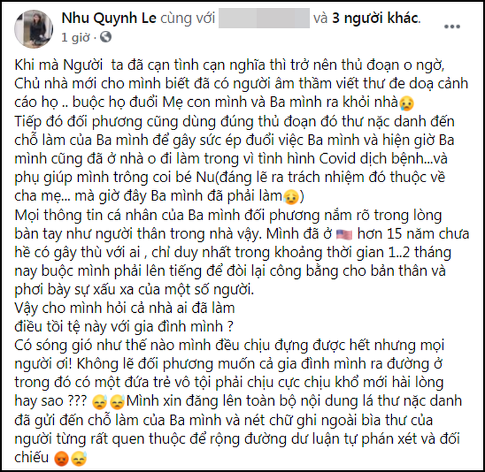 Vo cu Hoang Anh bi ep roi khoi nha thue-Hinh-2
