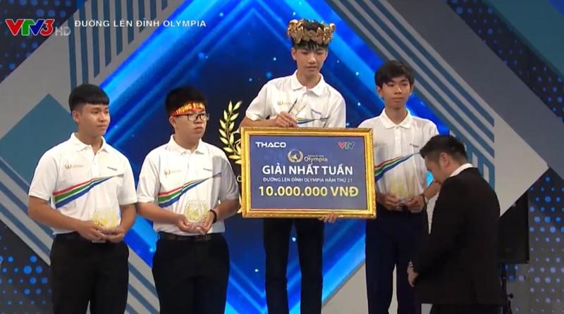 Nam sinh Thai Nguyen lap ky luc o Duong len dinh Olympia-Hinh-2