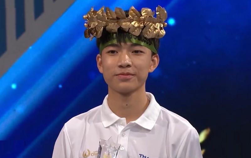Nam sinh Thai Nguyen lap ky luc o Duong len dinh Olympia