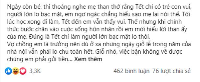 Nang dau doi pho khi bi me chong nhac chuyen sam Tet