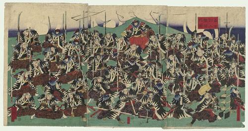Huyen thoai 47 Samurai ve viec tra thu va tu tu tap the