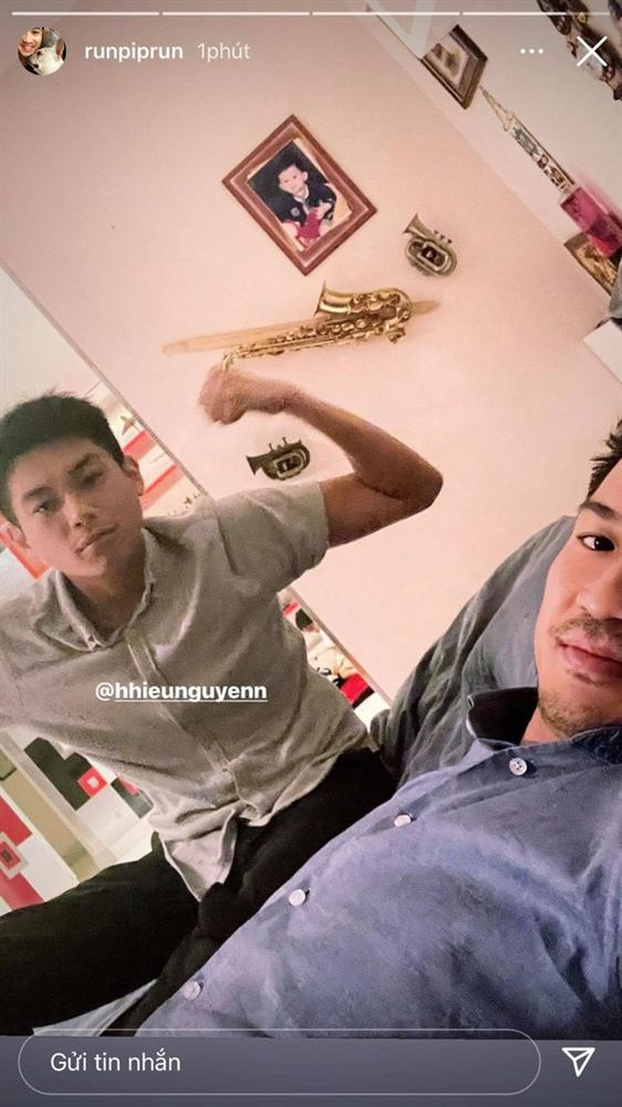 Hieu Nguyen xuat hien gay go giua nghi van that tinh