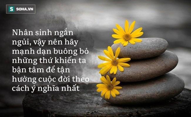 Nguoi lam duoc 3 viec nay cang song cang huong phuc day