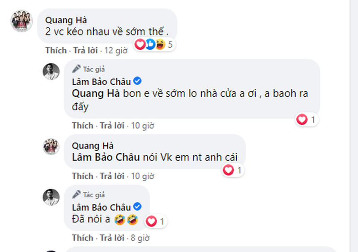 Quang Ha de lo Le Quyen - Lam Bao Chau goi nhau la vo chong?-Hinh-2