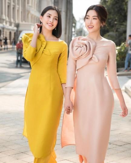 1001 sac thai ao dai my nhan Viet can Tet-Hinh-9