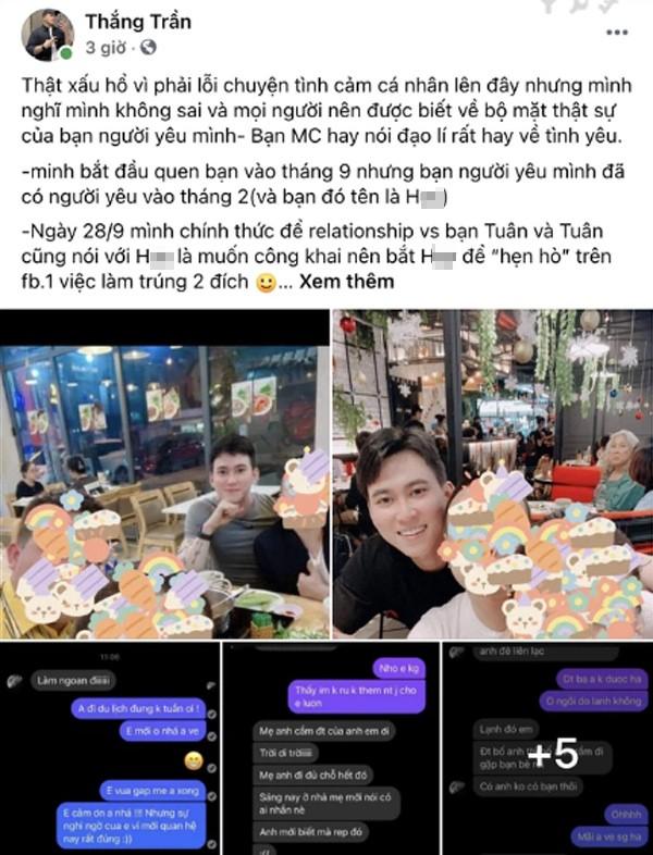 Dong thai gay chu y cua nam MC noi tieng gioi LGBT