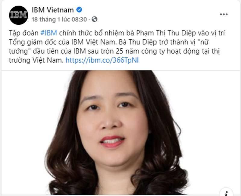 Nu tuong Viet vao Top lanh dao tap doan toan cau