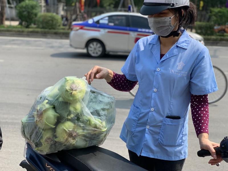 Dan Ha Noi chung tay giai cuu rau xanh cho nong dan Hai Duong-Hinh-10