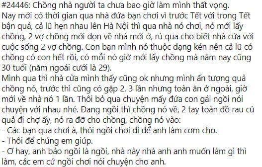 Chong nguoi ta luong gan 100 trieu ve nha van kheo chuyen bep nuc