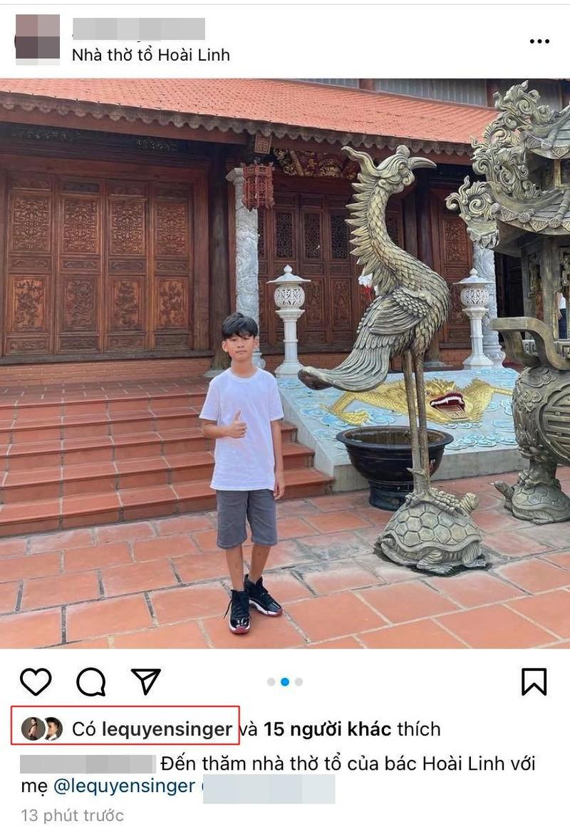 Dong thai cua con trai Le Quyen he lo thai do voi