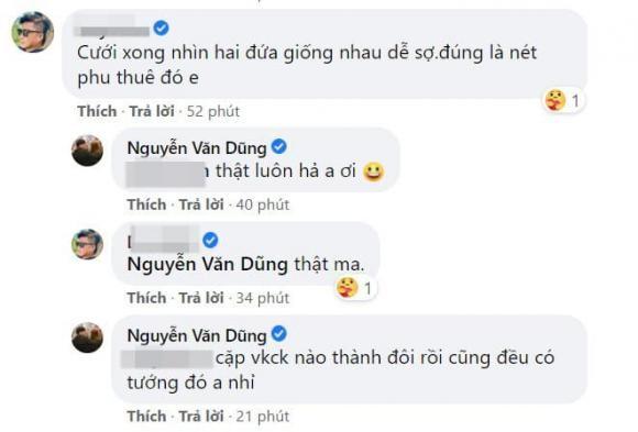 Phan ung cua Van Dung sau khi bi vo