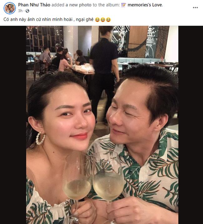 Phan Nhu Thao khoe duoc ong xa dai gia nhin dam duoi