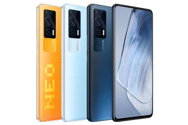 Can canh Vivo iQOO Neo5 5G: Cau hinh 'khung', man hinh 120Hz, sac sieu toc-Hinh-3