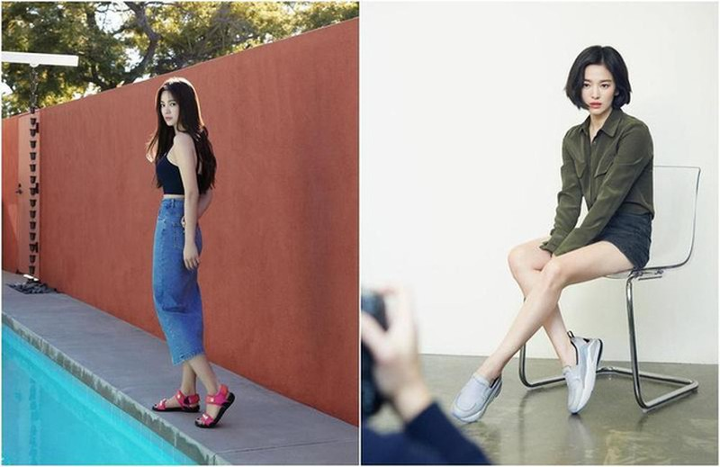 Song Hye Kyo an dau phu vao