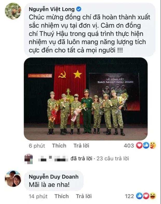 Hau Hoang viet tam thu cong khai