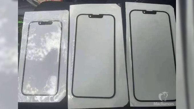iPhone 13 co phan notch nho hon