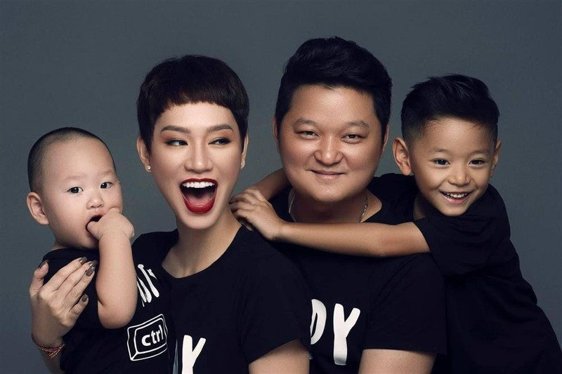 Loat anh an uong cuc yeu cua con trai Tra My Idol-Hinh-11