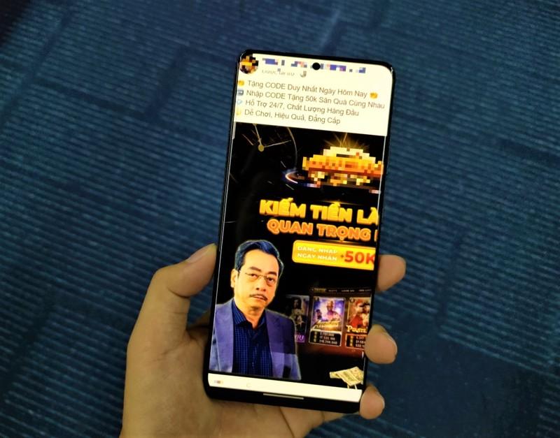 Tran Thanh, Lan Ngoc tung bi ghep quang cao lua dao khap Facebook