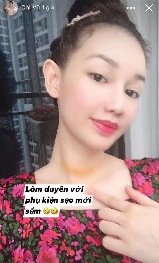 MC Quynh Chi khoe
